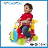 Wholesale 4-wheel push plastic classic trolley cart baby walker toy