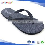 2017 free sample cheap wholesale black wedge latest printing mens flip flops slippers beach sandals Flipflops shoes