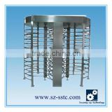 1D/2D barcode scanner ticket system access control automatic security full height turnstile