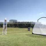 Green swing batting cage hitting target driving range golf net