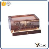 chinese supplier wooden wedding gifts jewellery box with lock branded stand up box with many compartments