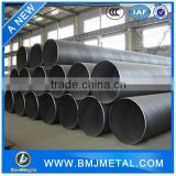 "1/2"" to 14"" ASTM A106B A53B Large Diameter Seamless Black Steel Pipe In Large Stock"