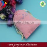 Alibaba China high quality recyclable small drawstring cotton promotion bag for Menstrual cup