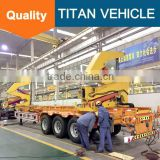 Container Trailer Side Loading, Trailer Container Lift, Self-Loading Container Truck Trailer