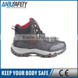 oil resistant pu sole safety shoes for construction worker