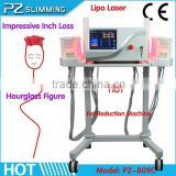 the miracle procedure to reduce fat dual wavelength lipo laser PZ Laser slimming Machine slimming lipo laser on sale