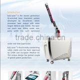 higher peak power Q-Switched Nd:yag laser pigmented dermatosis tattoo removal Skin toning care machine