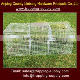 Larsen Magpie Trap Folding Galvanised Steel Pest Bird Cage Trap