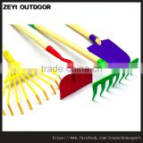 Kids Garden Tool Set Toy Big Rake Shovel Children Plastic Very Clever