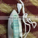 home used electric equipement iron mini elecetric iron scrap steam iron