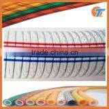 Transparent pvc steel wire reinforced hose flexible plastic pipe tube PVC hose