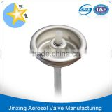 Hair mosse spray valve and nozzle/1 inch hair spray valve and actuator/hair spray aerosol can valve