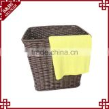 Good quality hand woven wholesale supermarket household product hotel storage laundry basket