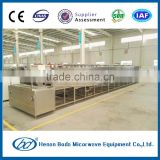 Industrial instant noodles microwave drying & sterilizing machine
