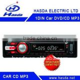 one din universal Car cd audio mp3 radio player with LCD screen
