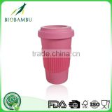 Popular Conventional Pro-environment bamboo coffee cup disposable