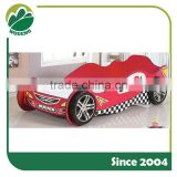 Children/Child/Kids creative race car bed car shap bed for bedroom furniture