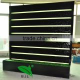 indoor artificial waterfall fountain,waterfall style led wall screen,waterfall indoor wall