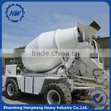 Self Loading Concrete Mixer Truck Hydraulic 4x4 Mobile Concrete Mixing Truck