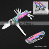 Multi Function Pocket Knife with Colorful Handle