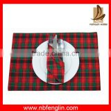 Kitchen soft fabric disposable baby placemats