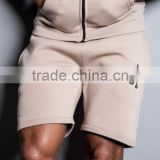 High Quality 100% Cotton Fleece Shorts Wholesale Sweat Shorts Mens Gym Shorts Plain Tracksuit Tapered Jogger Pants