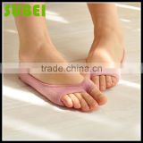 Summer female stealth fishmouth toe boat socks,female two toe cotton socks
