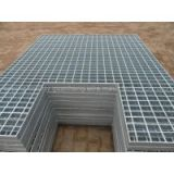 Lattice steel plate/ galvanized steel grating/ widely used as steel structure platform, steel grid fence, ladder step plate and ditch cover plate, etc