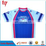 100%Polyester full sublimation baseball/softball t-shirts dry fit baseball jerseys