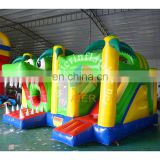 Kids toys air castle bouncy castle material crocodile cartoon inflatable jumping bouncy castle for adult
