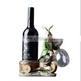 resin rabbit wine rack for sale ,resin wine rack