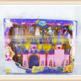 christmas toy kid music big plastic castle toy