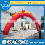 Commercial outdoor advertising stands halloween inflatable haunted house promotion product on sale