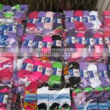 Cotton Spandex Customized Logo Jacquard or Embroidery sport sock