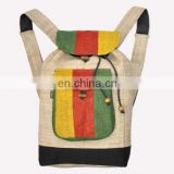Rasta Hemp Backpack