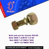 Bolt and nut for Mitsubishi Canter PS125 Front