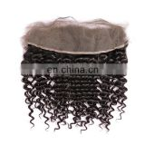 Wholesale 100%Virgin Remy Hair Lace Closures 13x4 Free Parting Lace Front Closures