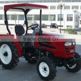 35hp 4WD china cheap mini tractor with front end loader and backhoe