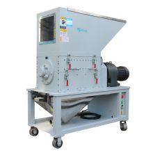 Quiet small slow machine side plastic crusher, automatic recovery of slow quiet crusher
