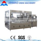 Small glass bottle gas drink filling production line