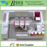 Brand nail salon chair furniture, mall nail kiosk from BST factory