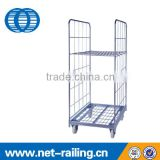 Industrial Foldable Roll Cage Trolley