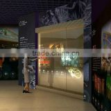 holographic screen easy install ultra-light weight self-adhesive rear projection windows shop advertising film!!!