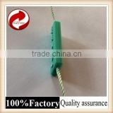 Fashional good quality plastic seal tag with logo string wine bottle security tag