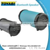 Wholesale OEM Wireless portable subwoofer bazooka speaker with fm radio with bluetoV2.1+EDR 1800mAH