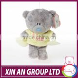 CE approved plush cute teddy bear t-shirts