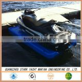 Blow Molding Plastic Molding Type pontoon for jet ski dock