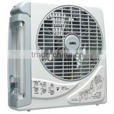 "SUNCA AC/DC Rechargeable Fan light 8"" SF-283A"