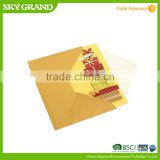 High quality OEM paper stock greeting card