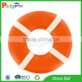 Partypro Zhejiang Factory New Design Wholesale PU Foam Life Buoy Rings Stress Toy